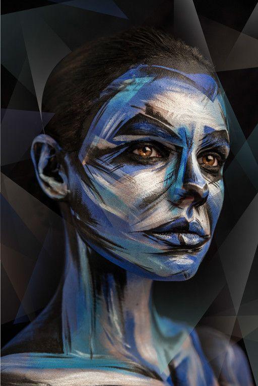 Pinceladas: así es, una vez más un maquillaje que convierte tu rostro en una obra
