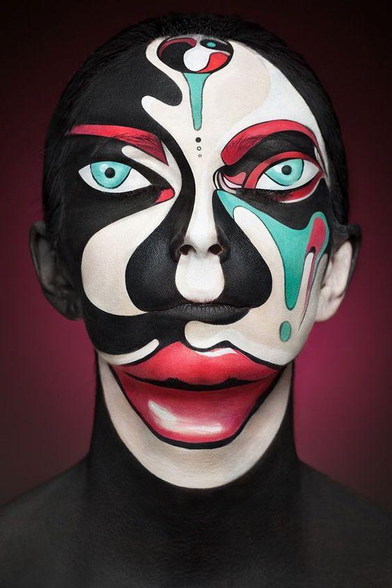 Psico: si buscas un maquillaje creativo, esta es definitivamente la mejor opción